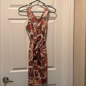 Banana Republic v-neck dress 4P